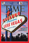 Las Vegas on cover of Time August 15, 2009
