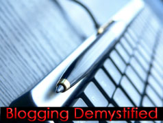 Bloggingdemystified