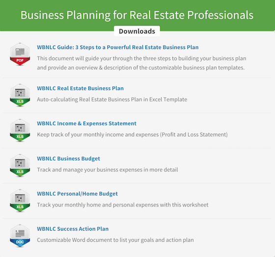 Real Estate Coach – Real Estate Business Plan